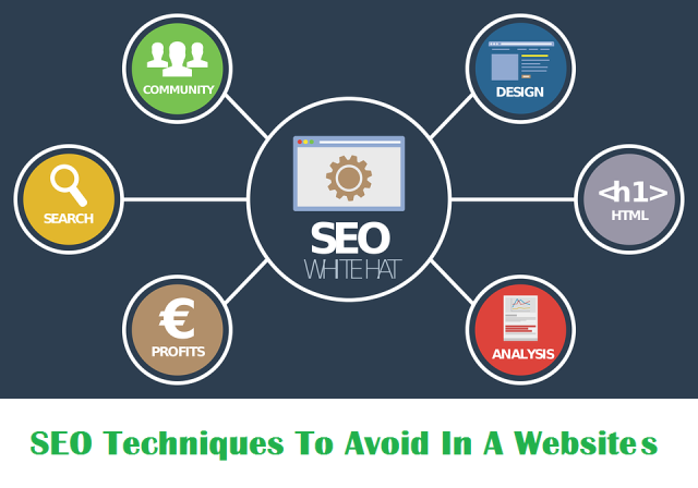 SEO Techniques To Avoid In A Website