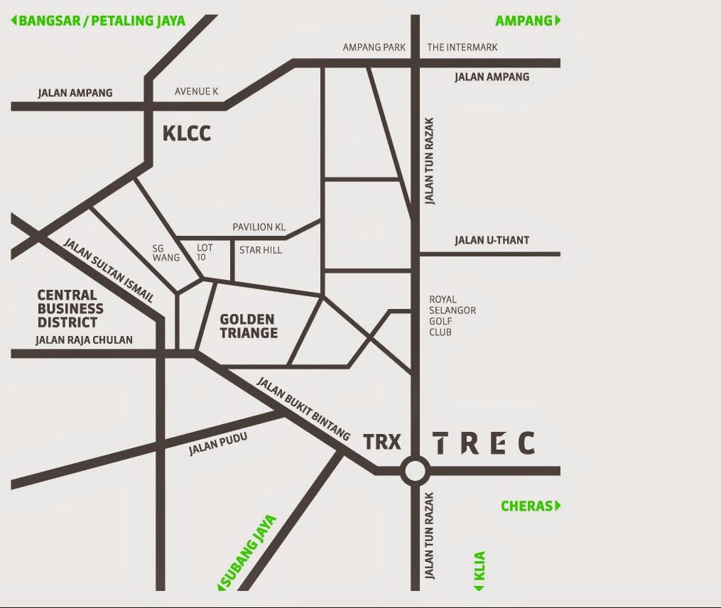 TREC Kuala Lumpur Map