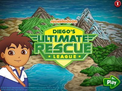 迪格終極大救援(Diego`s Ultimate Rescue),很適合給兒童學習英語,開發智力的休閒益智!