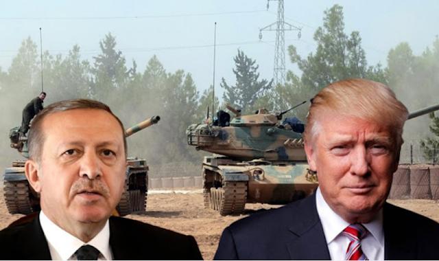 Αποτέλεσμα εικόνας για O Tραμπ πρέπει να διαλέξει μεταξύ Ερντογάν και Κούρδων
