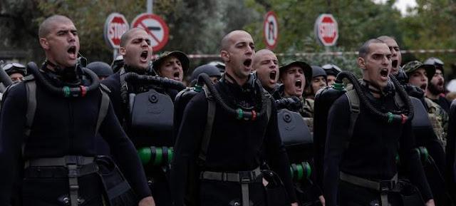 Όταν οι Καταδρομείς φώναξαν «Μακεδονία ξακουστή» μέσα στη Θεσσαλονίκη.ΔΥΝΑΤΑ ΕΛΛΗΝΕΣ ΜΗΝ ΧΑΝΕΤΕ ΤΟ ΘΑΡΡΟΣ ΣΑΣ