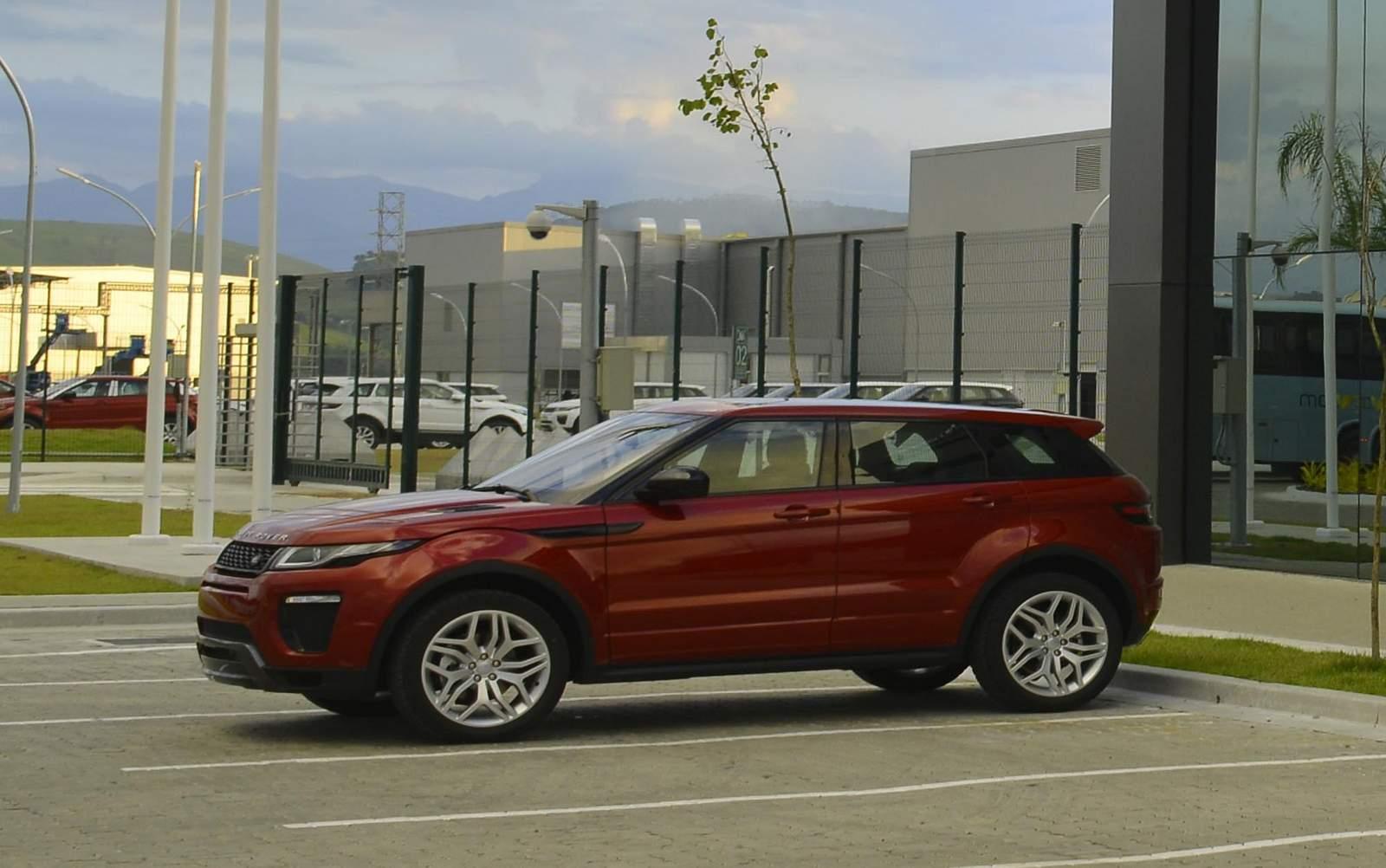 Land Rover Evoque 2017   Brasil