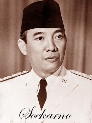 Foto Ir Soekarno presiden Indonesia pertama