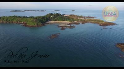 Keindahan Pantai Pulau Jemur - Wisata Rokan Hilir