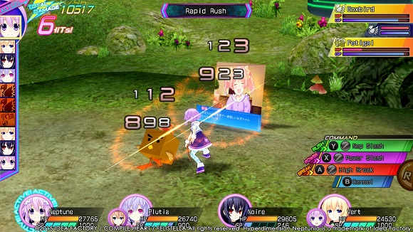 Hyperdimension Neptunia Re Birth3 V Generation PC Full Version Screenshot 2