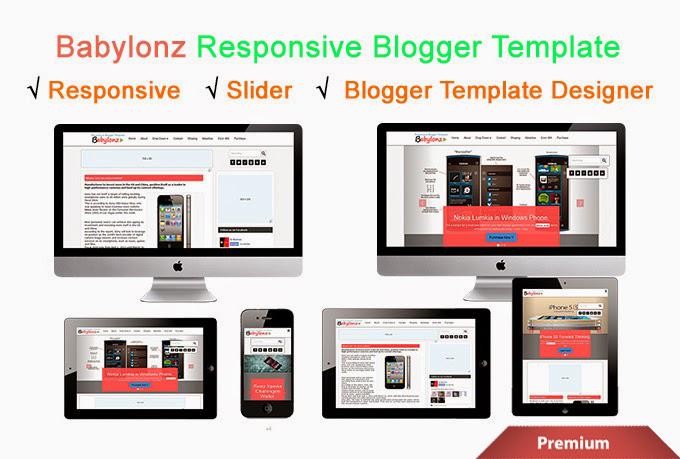 Babylonz Resposnive Blogger Template Preview