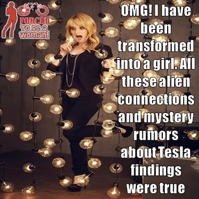 Alien Conections Transformation TG Caption - TG Captions and more - Crossdressing and Sissy Tales and Captioned images