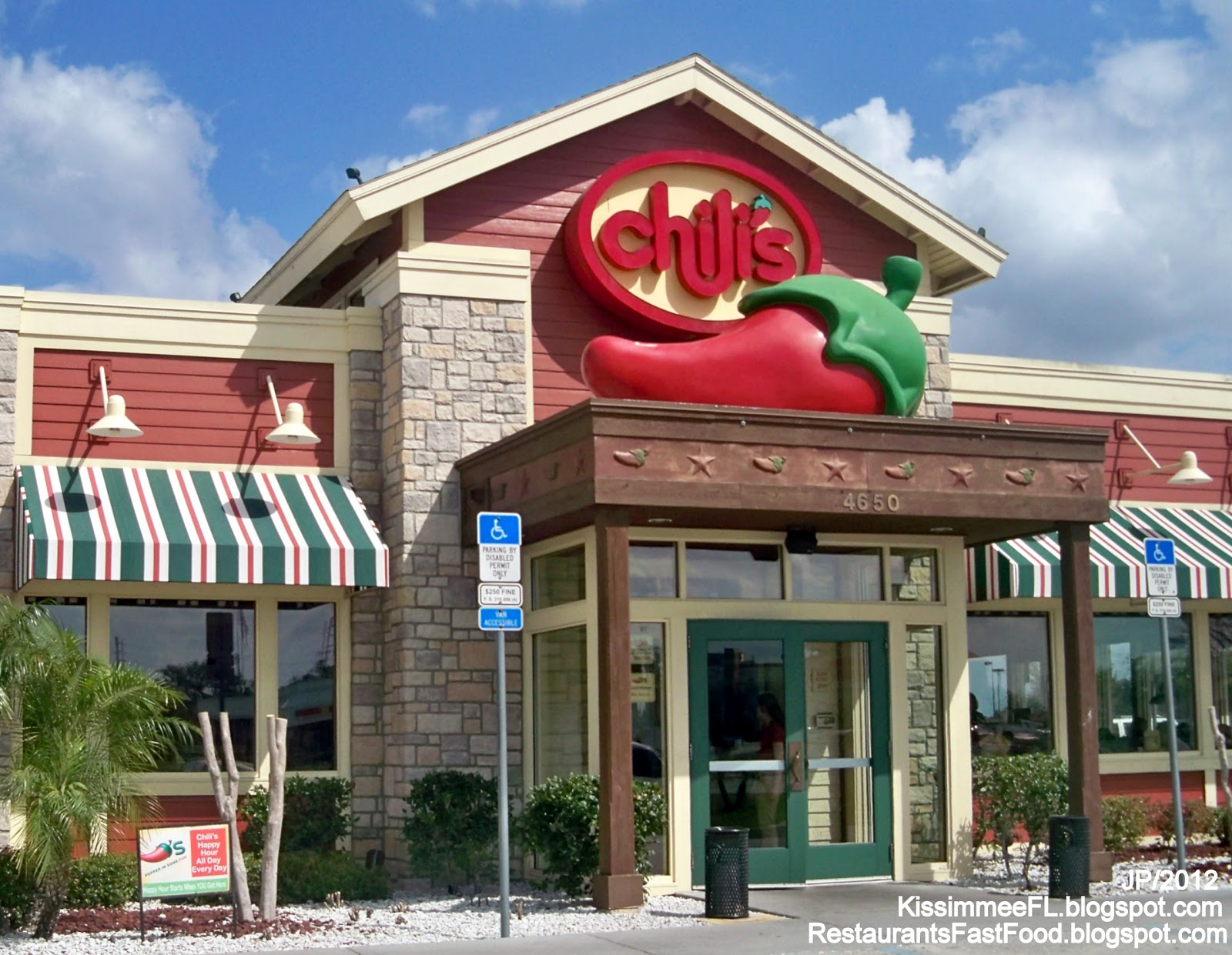 Chili S Restaurant St Cloud Florida 4650 13th Grill Bar Casual Osceola County Saint Fl