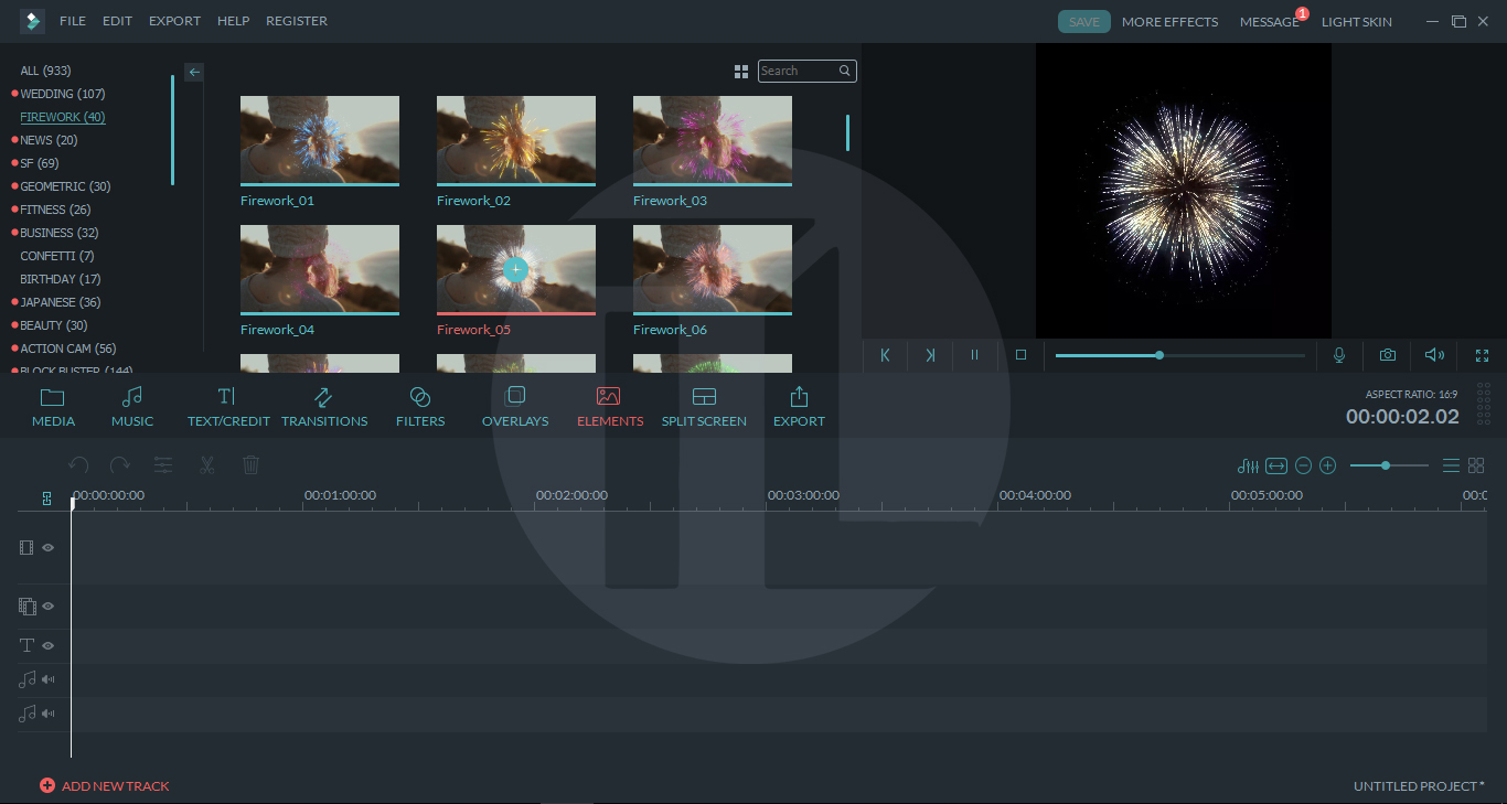 filmora free effects pack