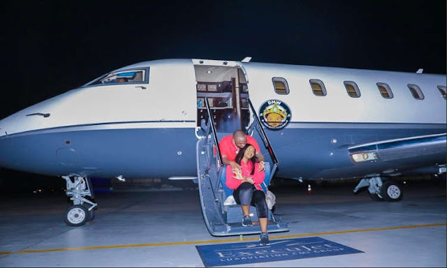 Davido's Private Jet