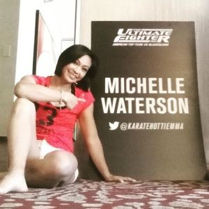 Foto Michelle Waterson Pegulat Seksi