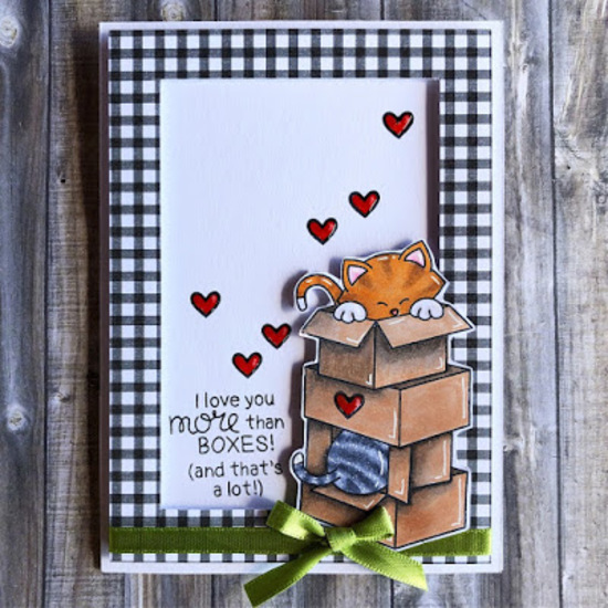 I love you more than boxes by Lisa features Newton Loves Boxes by Newton's Nook Designs; #newtonsnook