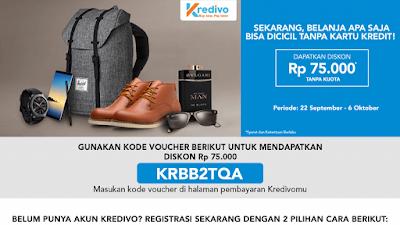 Promo Kredivo Online blibli.com