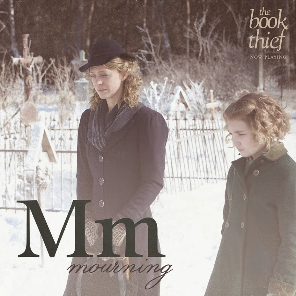 the book thief letters m mourning