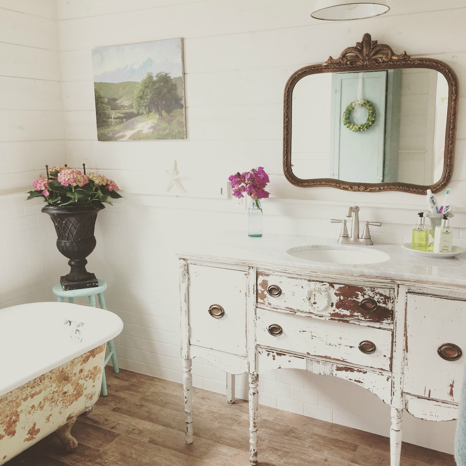 Bathroom Ideas: D.D.'s Cottage And Design: Peeks Around The House And Our