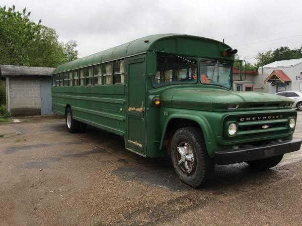 1966 Chevy C60 School Bus Auto Restorationice