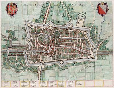 Utrecht in de 17e eeuw