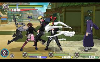 Mod Game Character Naruto Shippuden Boruto