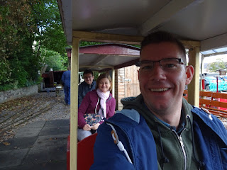 Dragon Miniature Railway at Marple's Wyevale Garden Centre