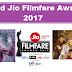 62nd Jio Filmfare Awards 2017 Current Affairs 2017 Download PDF