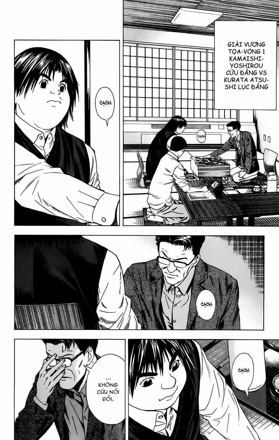 Hikaru No Go hikaru no go chap 119 trang 4