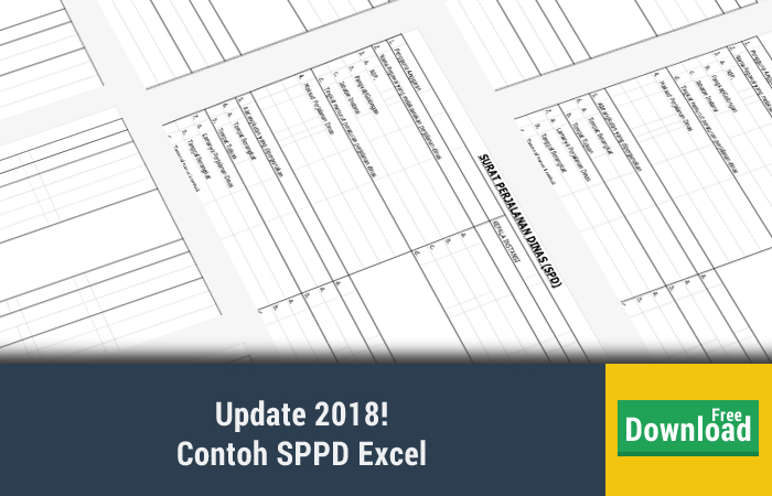 Contoh SPPD Excel