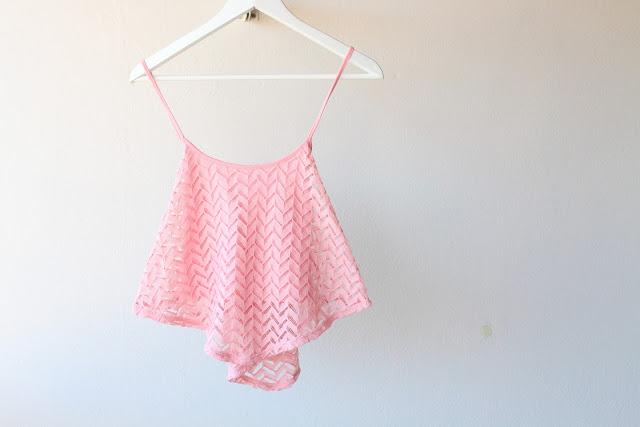 Seppala pink top, Seppala toppi