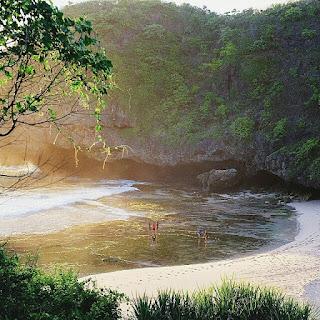 lokasi, rute, foto, pantai Grweng wonosari, gunung kidul, daerah istimewa yogyakara, jogja