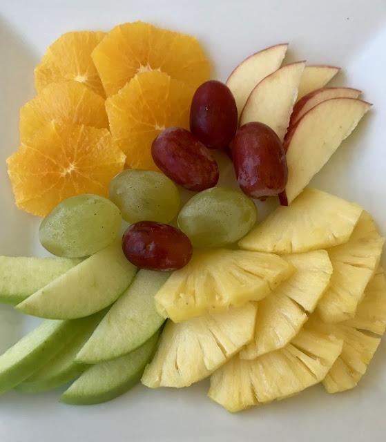Maison Eureka, Mauritius, fruit platter