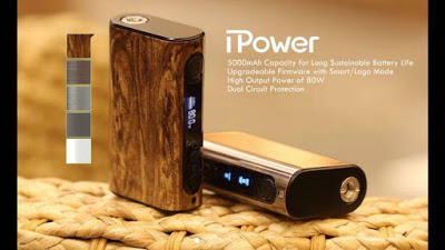 The new stuff by Eleaf: iPower!