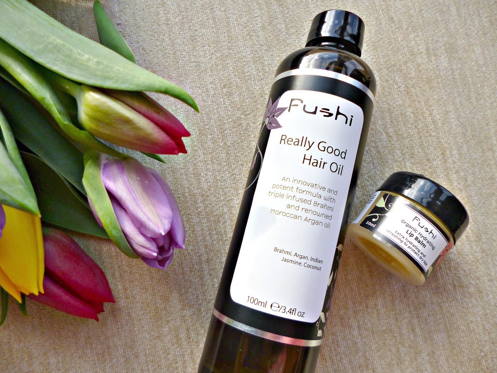 Fushi Really good hair oil and Lip balm review