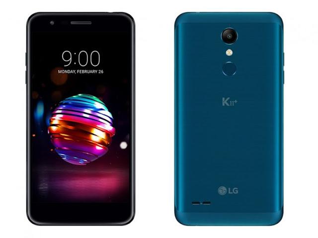 Spesifikasi dan Harga LG K11 Plus dan K11 Alpha