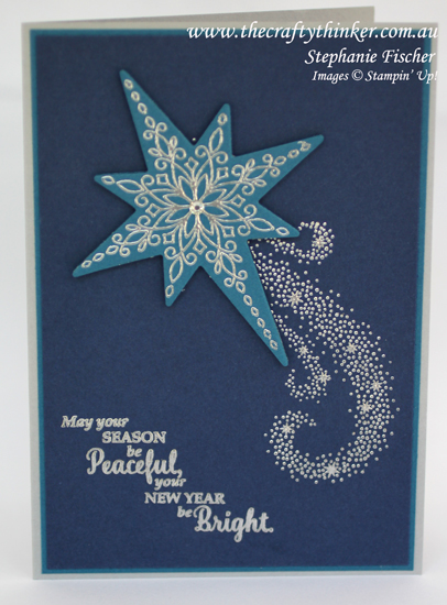 Stampin Up, #thecraftythinker, Christmas Card set, Star of Light, Xmas card, Stampin Up Australia Demonstrator
