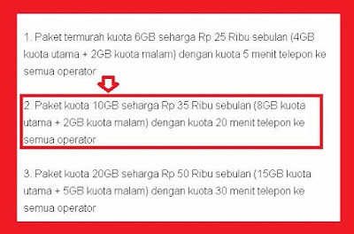 Harga paket internet murah sudah menjadi incaran dan keinginan bagi semua pengguna intern Paket Internet Im3 Indosat New Freedom Kuota 10GB Gratis Nelpon 20 menit ke semua operator