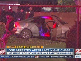 Bakersfield+Man+Arrested+Crash+100+mph+Chase+Police+February+2014