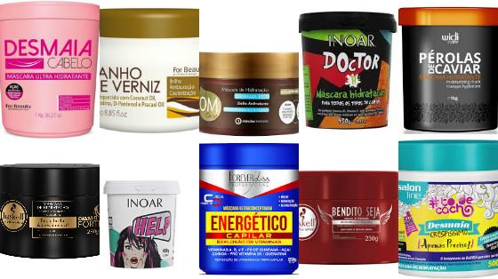 mascaras hidratacao fortalecedora  low poo