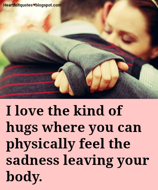 15 Best Love and Friendship Hug Quotes | Heartfelt Love And Life ...