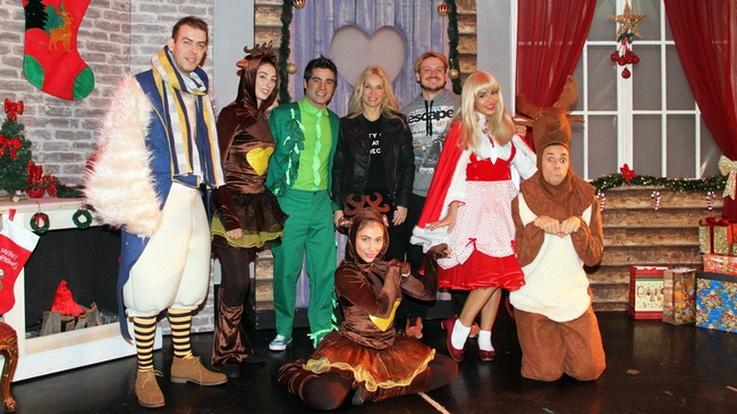 """Η παιδική παράσταση """"Τα Χριστούγεννα του Μάικ του Φασολάκη"""" στην Αλεξανδρούπολη"""