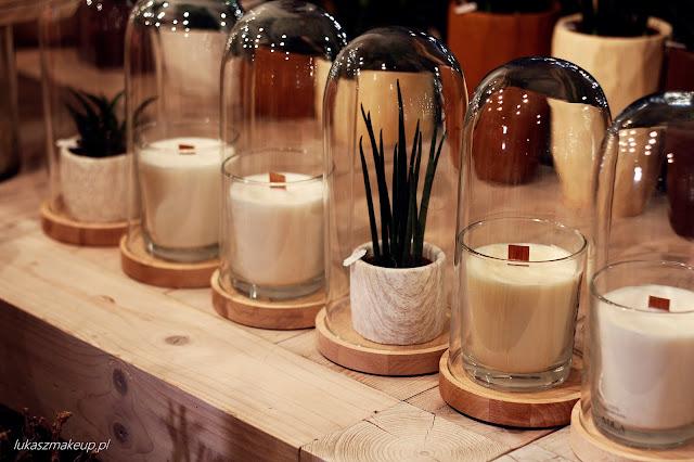 świece dekoracyjne do domu