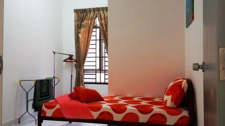 Bilik Tidur Kedua Homestay di Johor Bahru