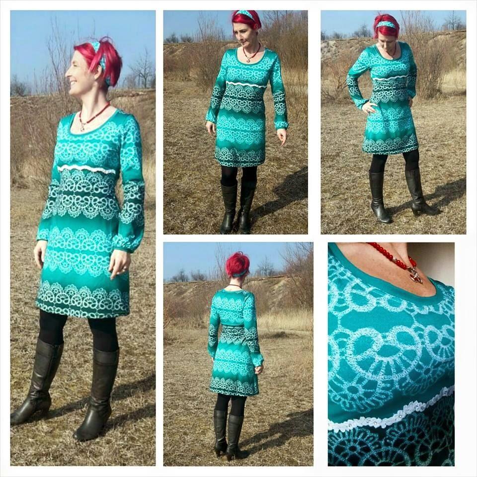 b4cf4b3fbf Miss Popias Nadelzauber: #RUMS mit traumhaften Frühlingskleid nach ...
