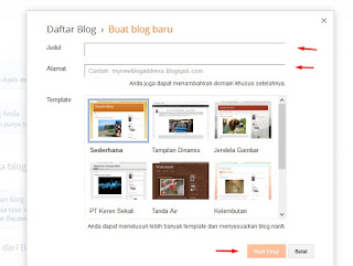 Cara Membuat Blogs
