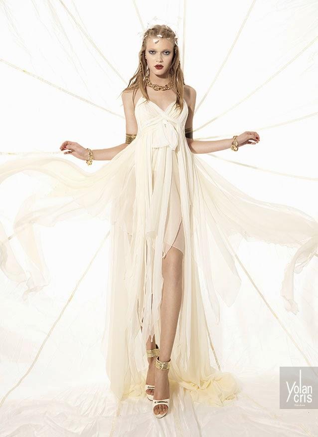 abiti da sposa 2015 YolanCris Etnic Chic e matrimoni a tema