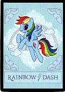 My Little Pony Rainbow Dash Series 4 Trading Card