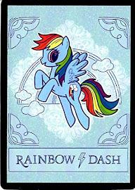 MLP Rainbow Dash Series 4 Trading Card