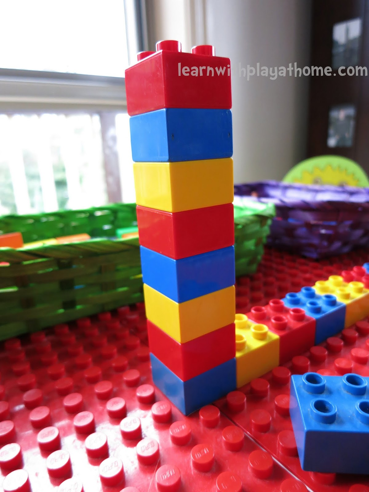 Learn With Play At Home Learning Patterns With Lego