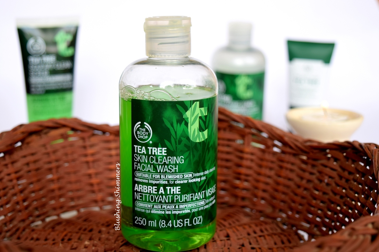 The Body Shop Tea Tree Face Wash