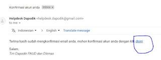konfirmasi tautan verifikasi email