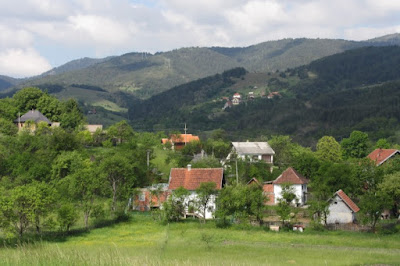 Servië, uitzicht vanaf camping Viljamovka