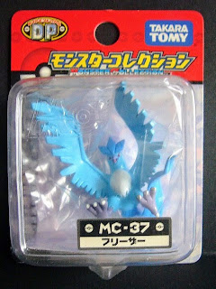 Articuno new pose renewal figure Takara Tomy Monster  Collection MC series